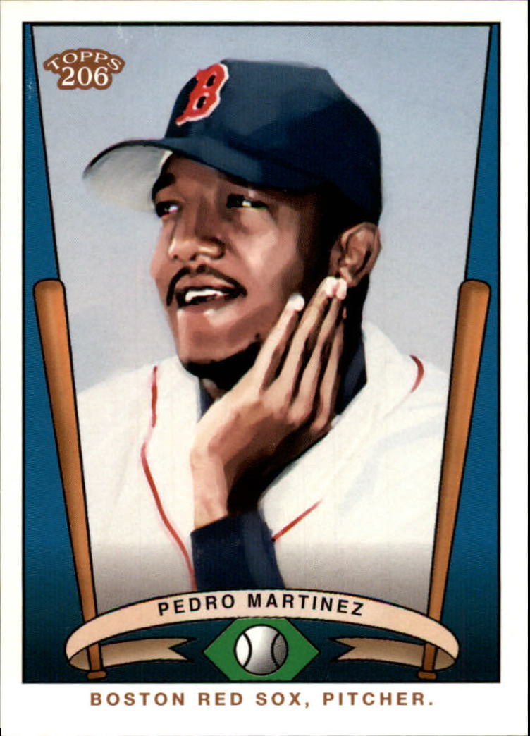 2002 Topps 206 Team 206 Series 1 #T2065 Pedro Martinez
