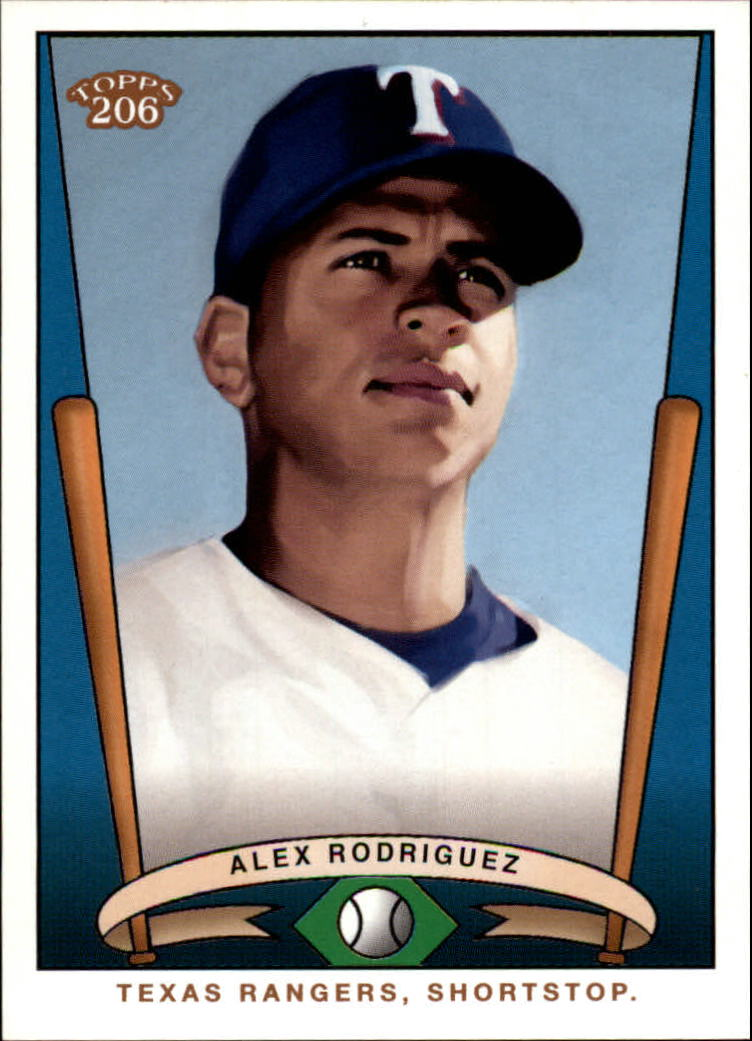 2002 Topps 206 Team 206 Series 1 #T20611 Alex Rodriguez