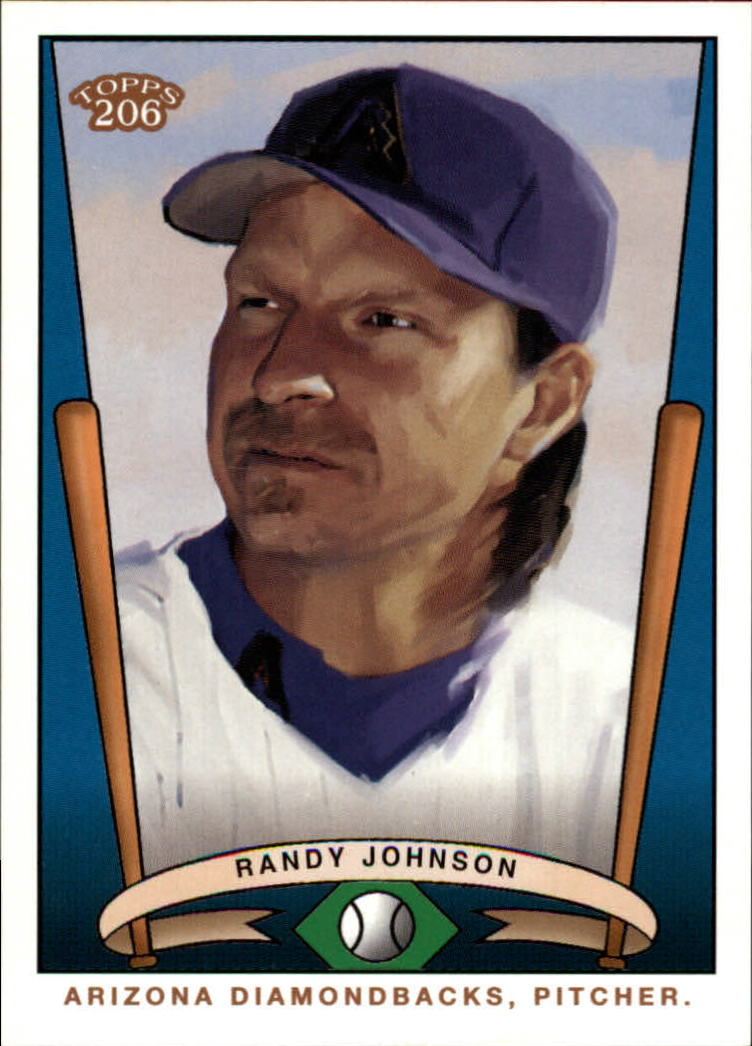 2002 Topps 206 Team 206 Series 1 #T20614 Randy Johnson front image