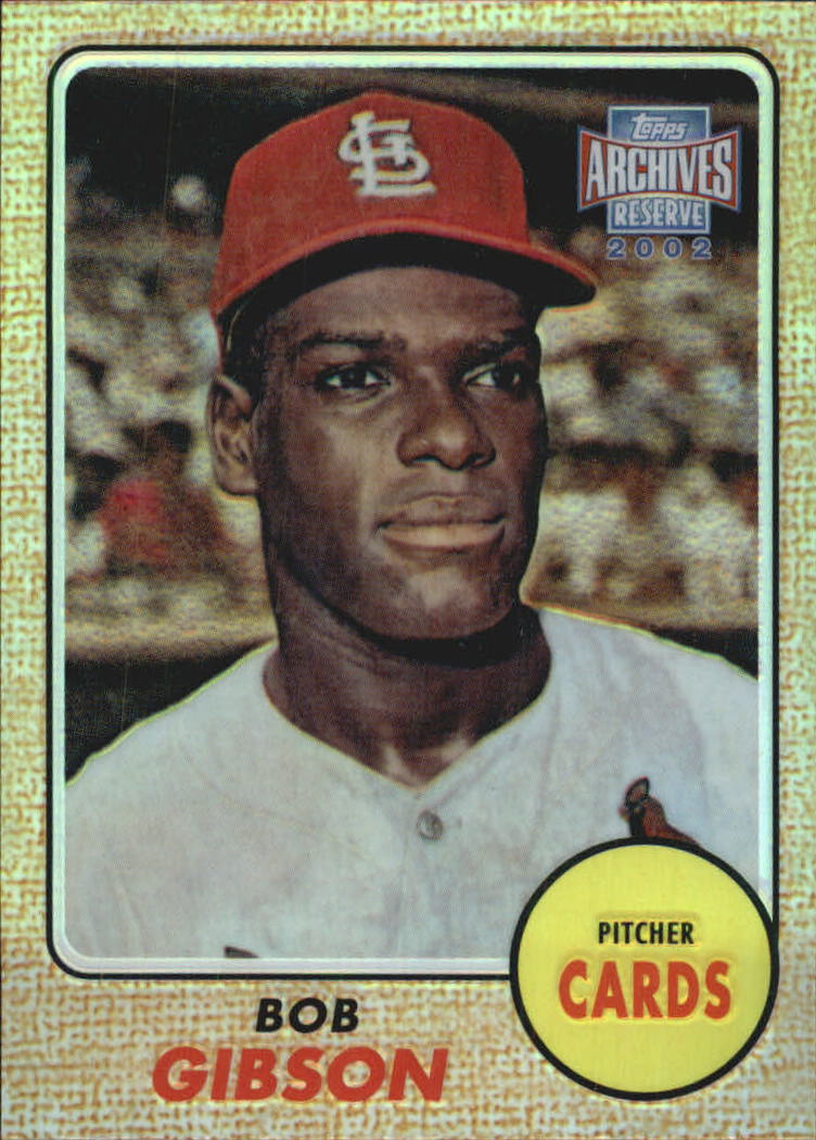 2002 Topps Archives Reserve #14 Bob Gibson 68