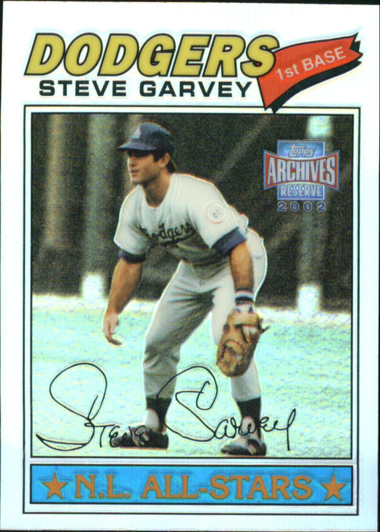 2002 Topps Archives Reserve #45 Steve Garvey 77