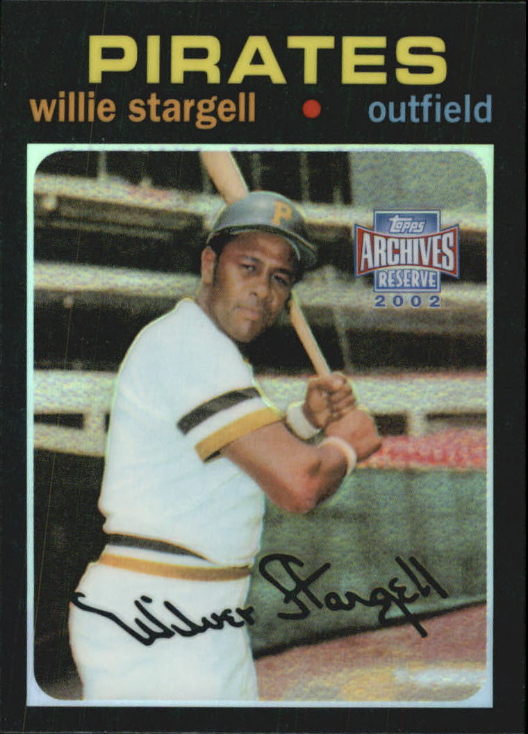 2002 Topps Archives Reserve #52 Willie Stargell 71