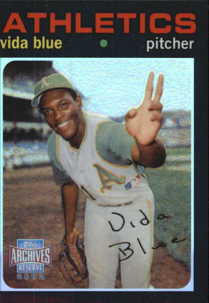 2002 Topps Archives Reserve #57 Vida Blue 71