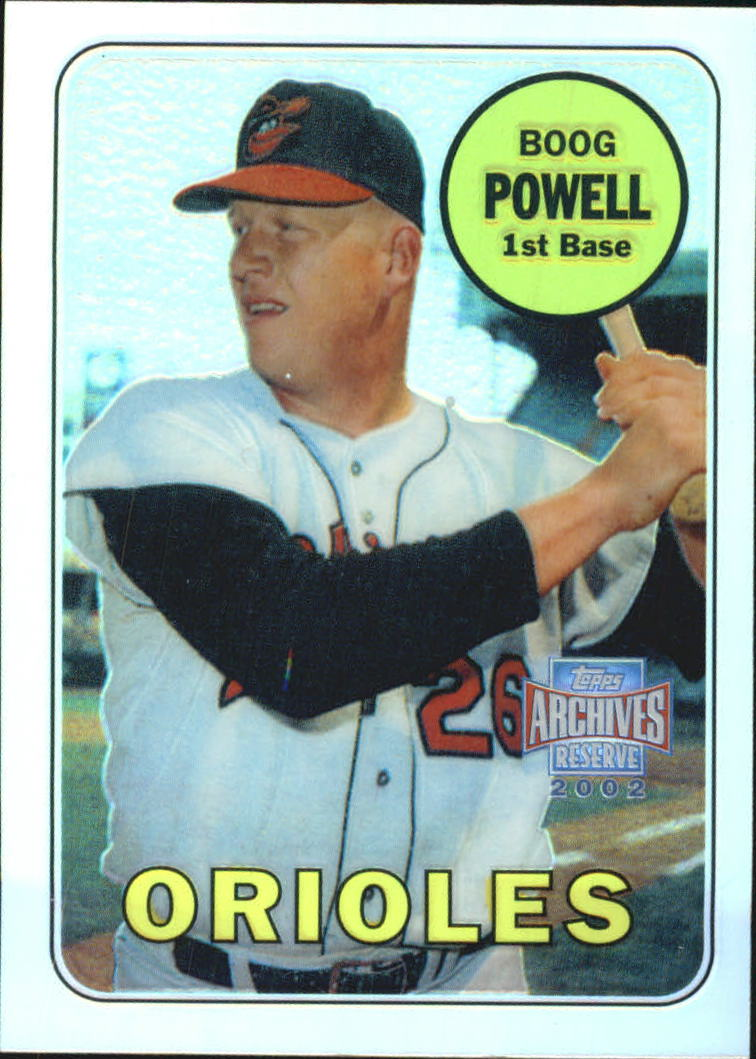 2002 Topps Archives Reserve #86 Boog Powell 69