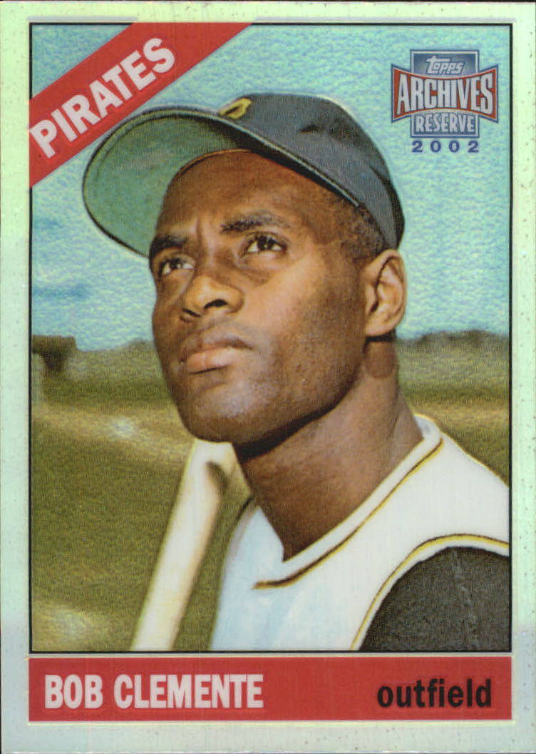 2002 Topps Archives Reserve #89 Roberto Clemente 66