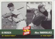 2002 Topps Heritage Then and Now #TN2 A.Rosen/A.Rodriguez