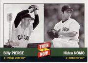 2002 Topps Heritage Then and Now #TN10 B.Pierce/H.Nomo