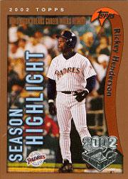 2002 Topps Opening Day #161 Rickey Henderson HL