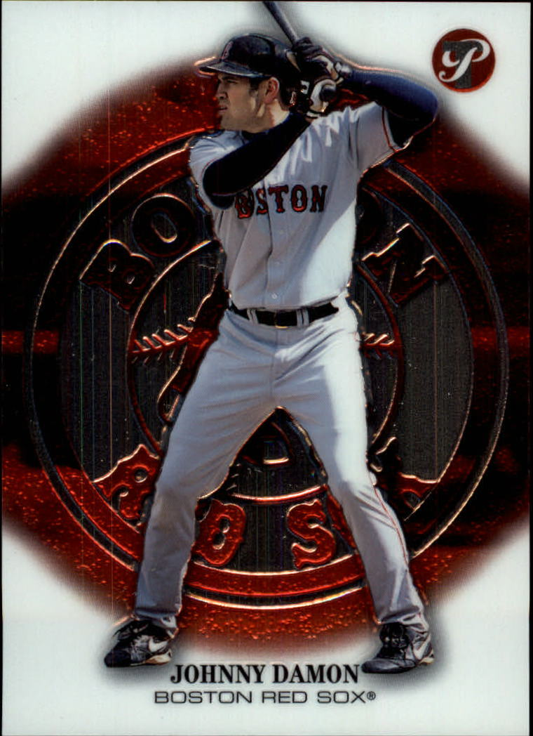 2002 Topps Pristine #9 Johnny Damon Sox