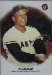 2002 Topps Pristine #141 Willie Mays