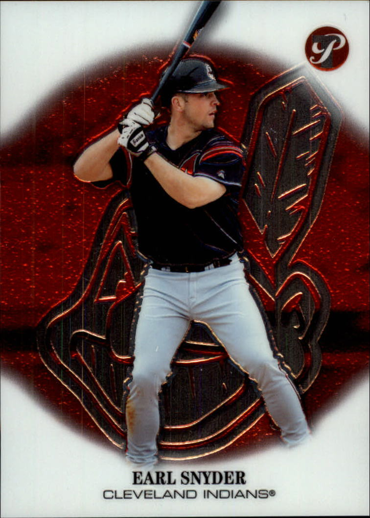 2002 Topps Pristine #208 Earl Snyder C RC