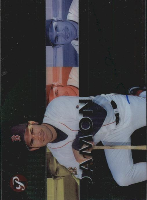 2002 Topps Pristine Personal Endorsements #JD Johnny Damon Sox B