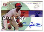 2002 Topps Pristine Personal Endorsements #JR Jimmy Rollins C