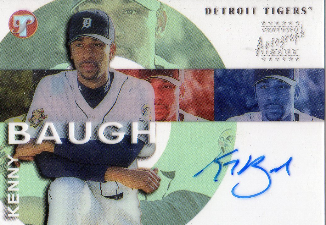 2002 Topps Pristine Personal Endorsements #KB Kenny Baugh F