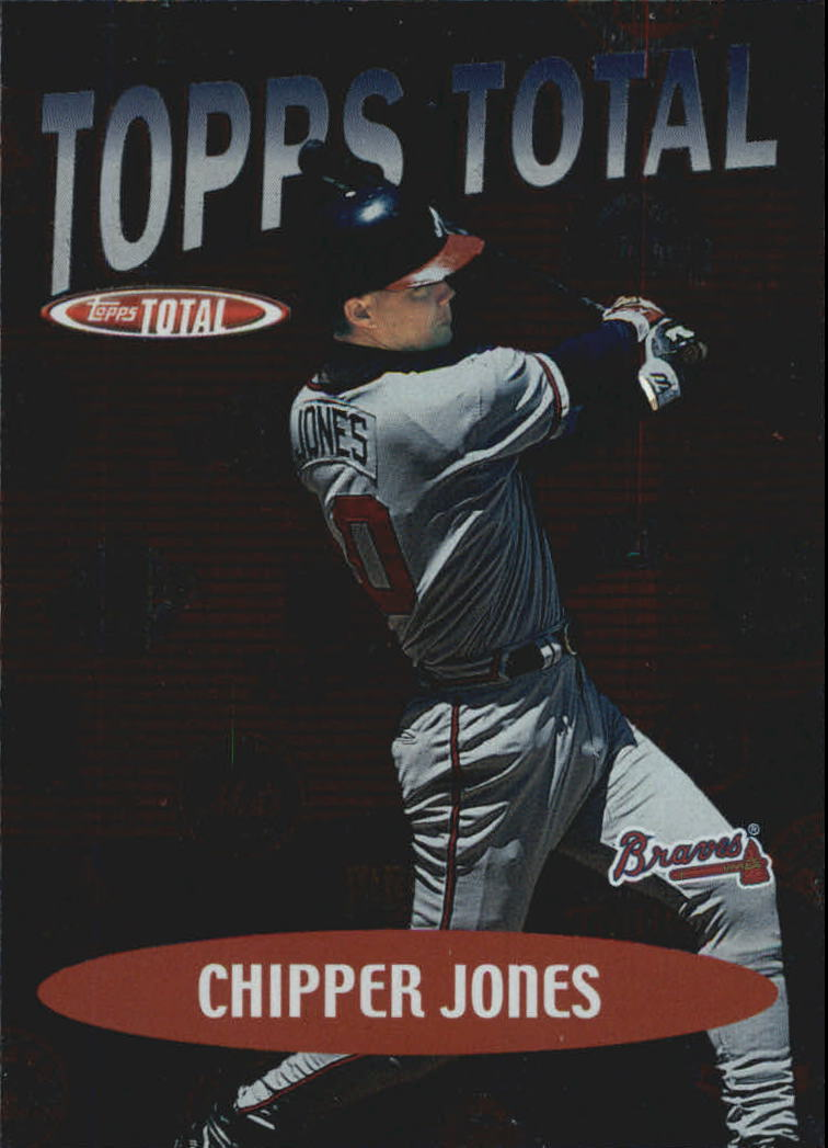 2002 Topps Total Topps #TT28 Chipper Jones