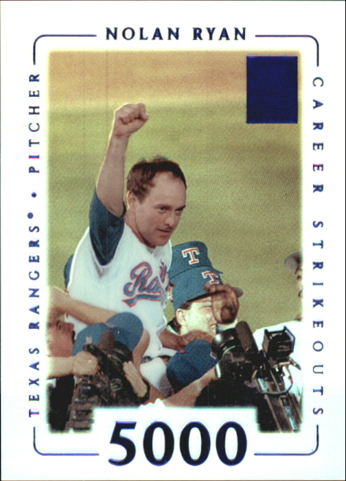2002 Topps Tribute First Impressions #15 Nolan Ryan/66