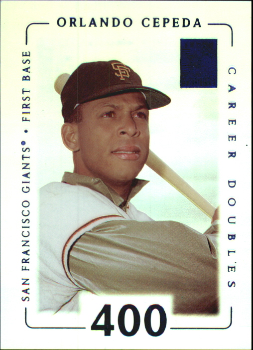 2002 Topps Tribute First Impressions #24 Orlando Cepeda/58