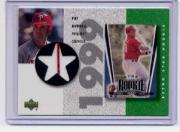 2002 UD Authentics Retro Star Rookie Jerseys #SRPB Pat Burrell