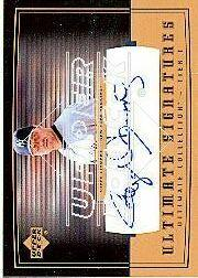 2002 Ultimate Collection Signatures Tier 1 Gold #RC1 Roger Clemens