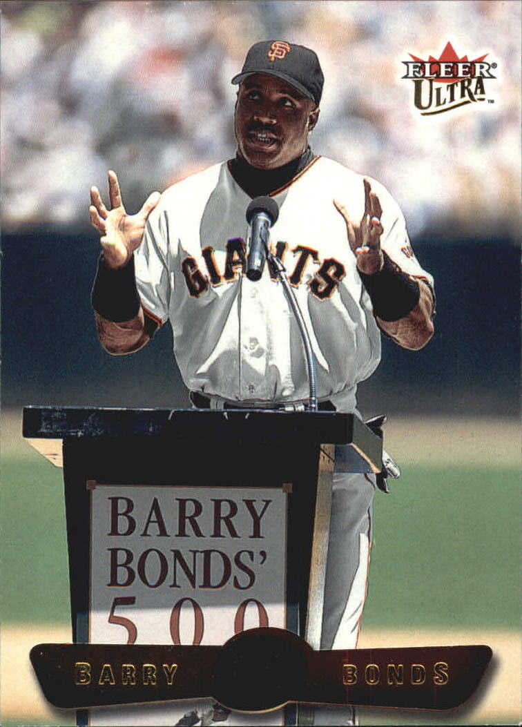 2002 Ultra #25 Barry Bonds front image