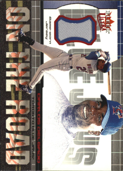 2002 Ultra On the Road Game Jersey #3 Carlos Delgado