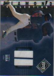 2002 Upper Deck Diamond Connection #215 Sammy Sosa DC Jsy