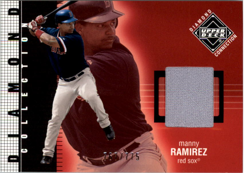 2002 Upper Deck Diamond Connection #250 Manny Ramirez DC Jsy