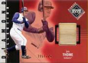 2002 Upper Deck Diamond Connection #395 Jim Thome DC Bat