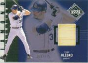 2002 Upper Deck Diamond Connection #404 Ryan Klesko DC Bat