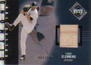 2002 Upper Deck Diamond Connection #434 Roger Clemens DC Bat