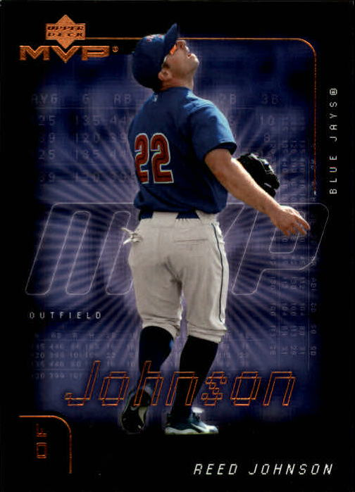 2002 Upper Deck MVP #27 Reed Johnson RC