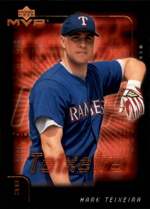 2002 Upper Deck MVP #73 Mark Teixeira