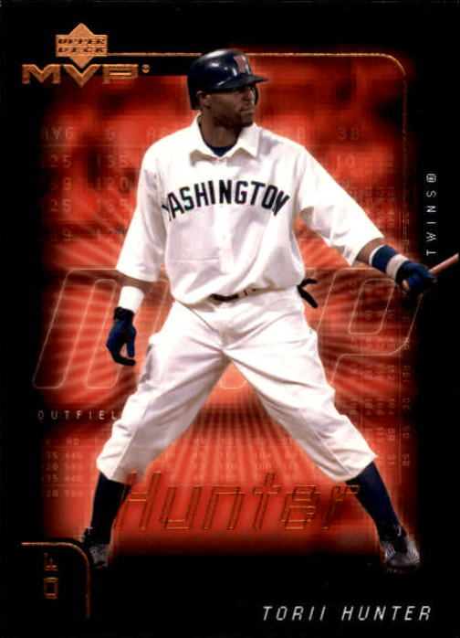 2002 Upper Deck MVP #111 Torii Hunter