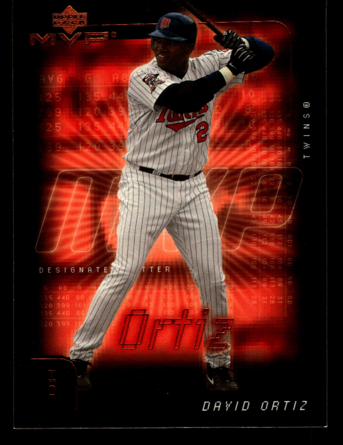 2002 Upper Deck MVP #115 David Ortiz