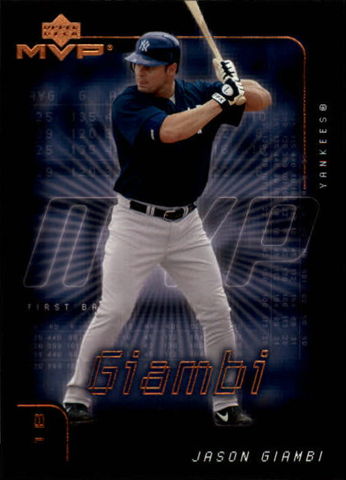 2002 Upper Deck MVP #135 Jason Giambi Yankees