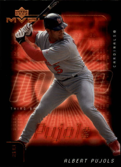 2002 Upper Deck MVP #166 Albert Pujols