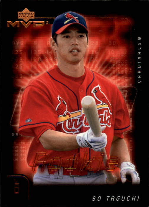 2002 Upper Deck MVP #168 So Taguchi RC
