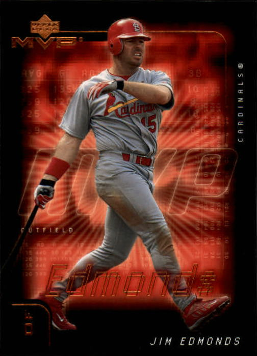 2002 Upper Deck MVP #169 Jim Edmonds