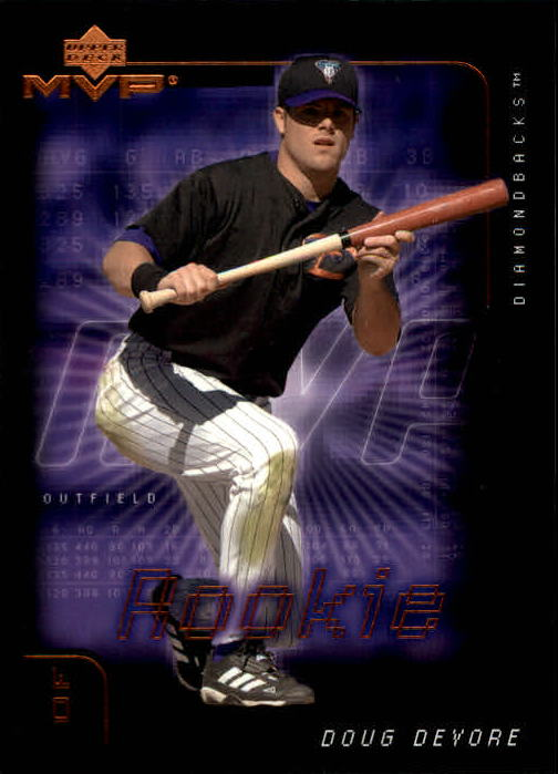 2002 Upper Deck MVP #193 Doug Devore RC
