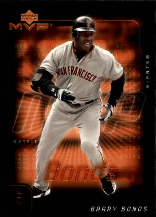 2002 Upper Deck MVP #225 Barry Bonds