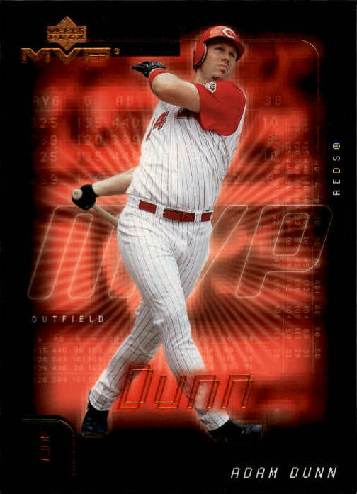 2002 Upper Deck MVP #284 Adam Dunn