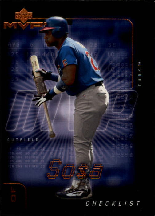 2002 Upper Deck MVP #297 Sammy Sosa CL
