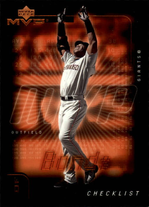 2002 Upper Deck MVP #299 Barry Bonds CL