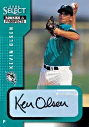 2002 Select Rookies and Prospects #58 Kevin Olsen