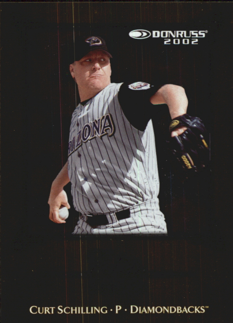 2002 Donruss Elite Series #5 Curt Schilling