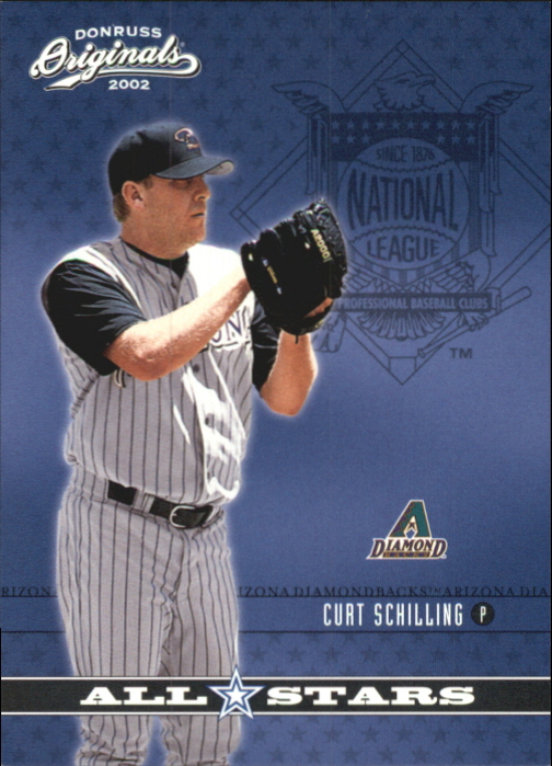 2002 Donruss Originals All-Stars #6 Curt Schilling