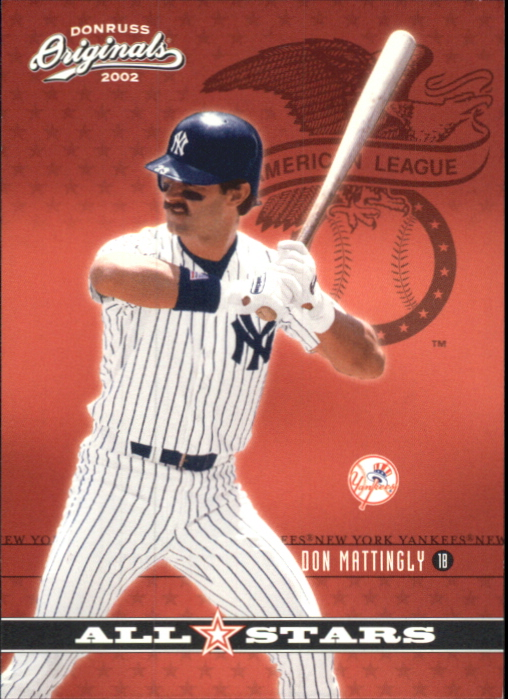 2002 Donruss Originals All-Stars #7 Don Mattingly