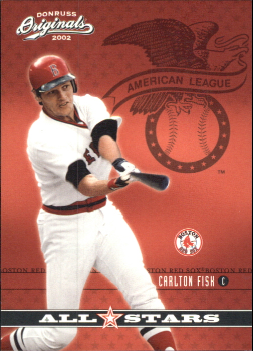 2002 Donruss Originals All-Stars #10 Carlton Fisk