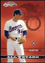 2002 Donruss Originals All-Stars #14 Nolan Ryan