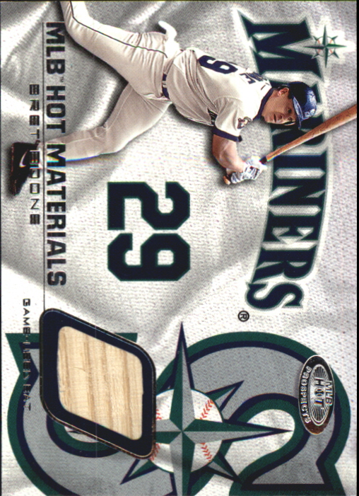 2002 Hot Prospects MLB Hot Materials #BB Bret Boone Bat